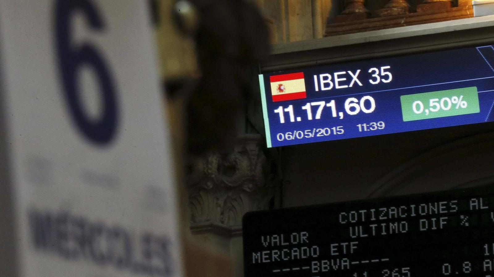 Foto: Vista general de la Bolsa de Madrid. (Efe)