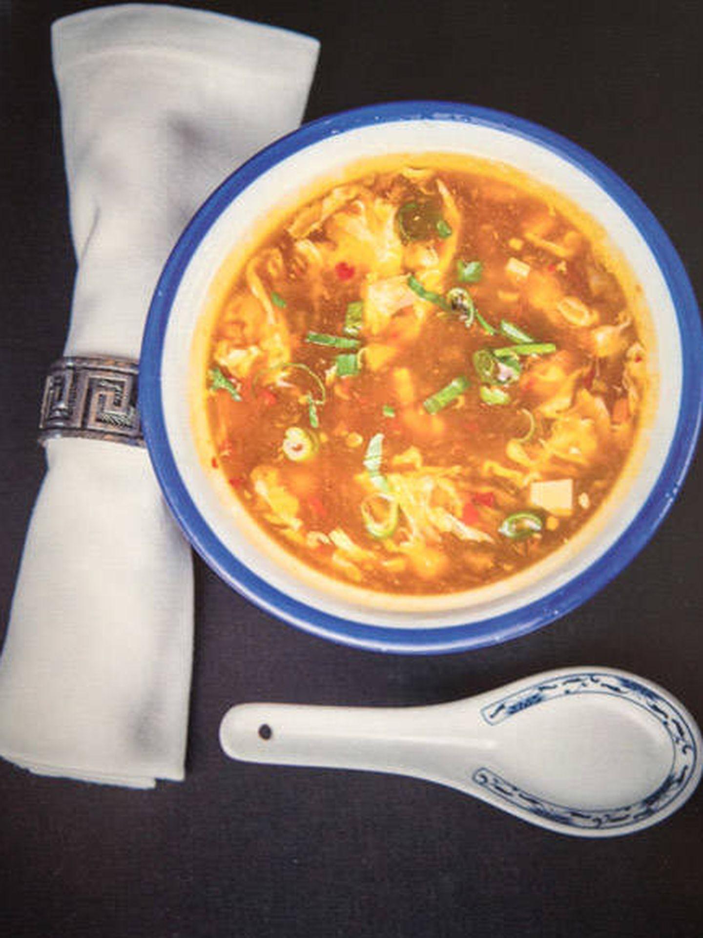 La sopa agripicante de Kanbun.