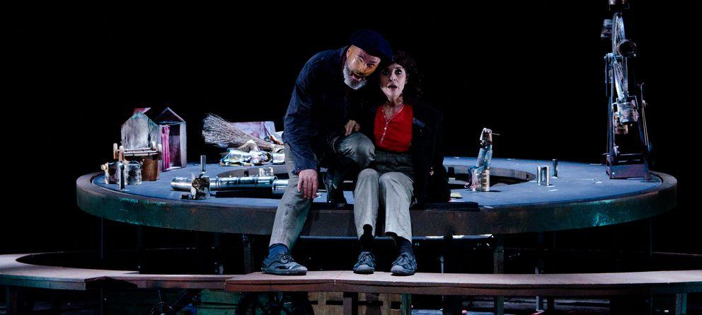 Foto: Jaume Policarpo y Adriana Ozores en 'Petit Pierre'