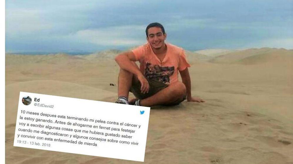 Foto: Edmundo David ha compartido su experiencia en redes sociales.