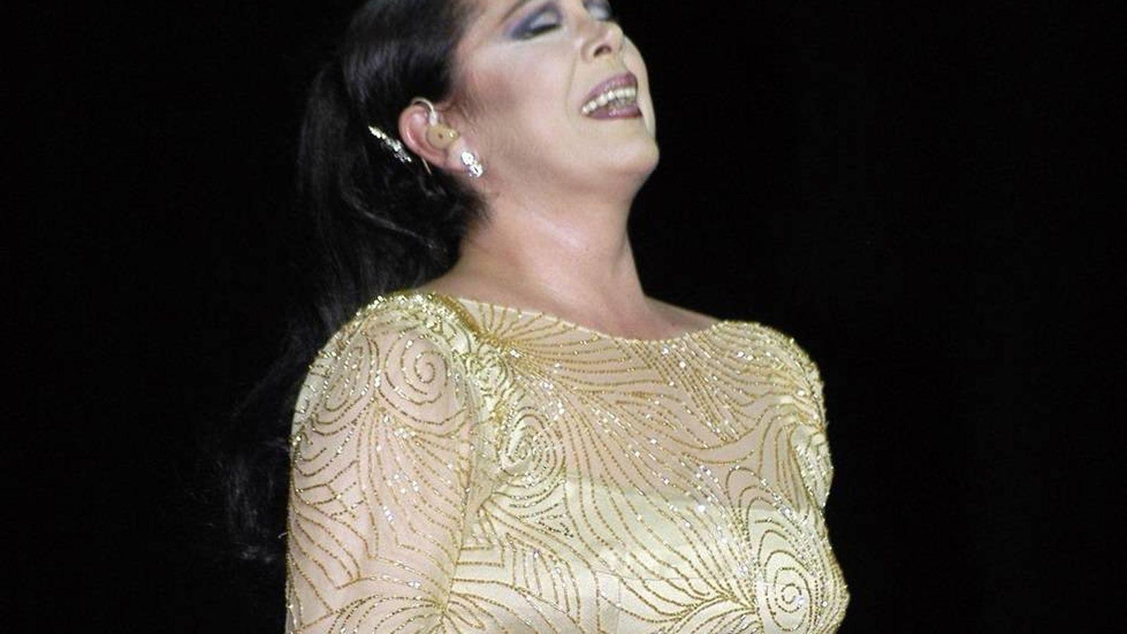 Foto: Isabel Pantoja en un concierto.(CORDON)