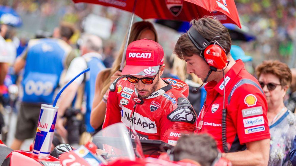 Foto: Andrea Dovizioso antes del pasado GP de Austria. (EFE)