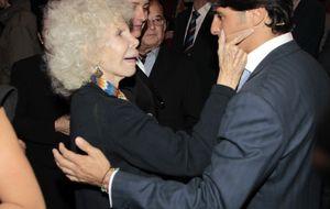 La ausencia de Fran Rivera, el único ex que no llora a la duquesa