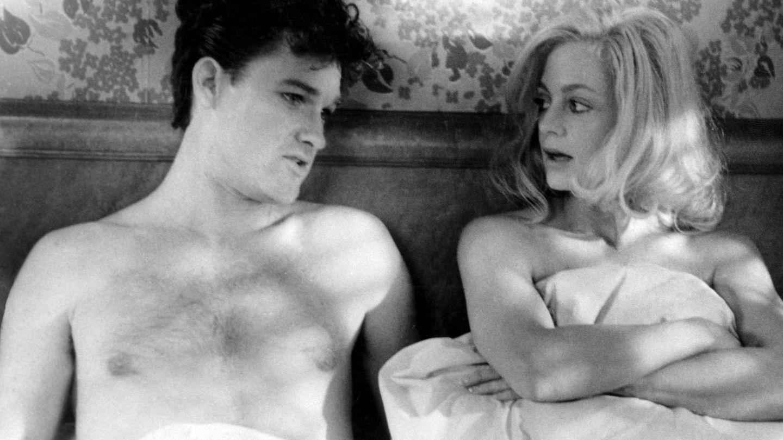 La pareja en 'Swing Shift', la película que los unió de nuevo. (CP)