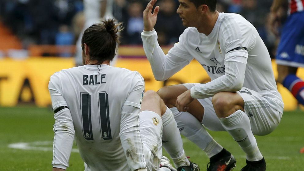 A Bale se le ve de qué pie cojea: se pierde un 25% de los partidos del Real Madrid