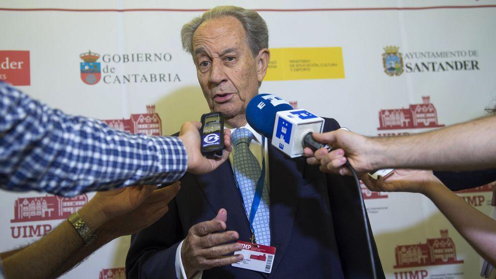 Foto: El presidente del Grupo Villar Mir, Juan Miguel Villar Mir (EFE)