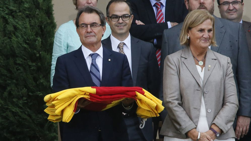 Foto: Artur Mas durante el día Nacional de Cataluña. Reuters