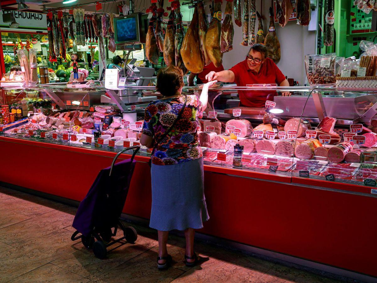 Foto: Mercado de abastos.