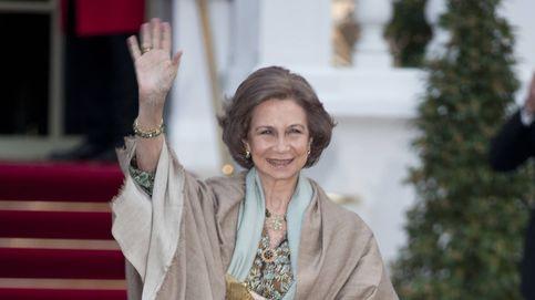 La Reina Sofía se va de boda sin Juan Carlos pero muy bien acompañada