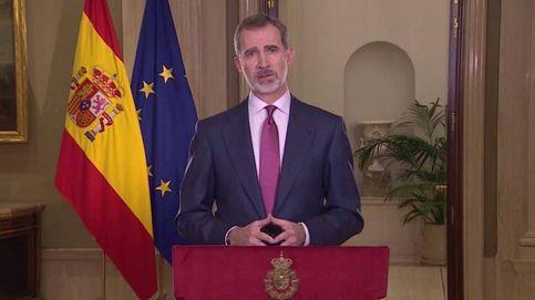 El mensaje del rey Felipe VI por la crisis del coronavirus reunió a 14,6 millones