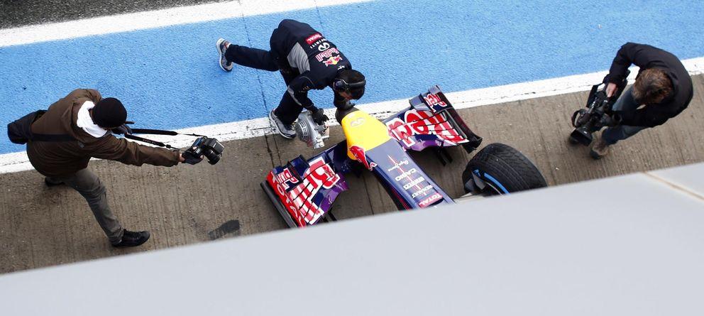 Foto: Red Bull no ha comenzado con demasiado buen pie este comienzo de pretemporada.