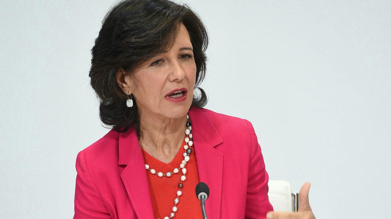 La presidenta del Banco Santander, Ana Patricia Botín. (EFE)