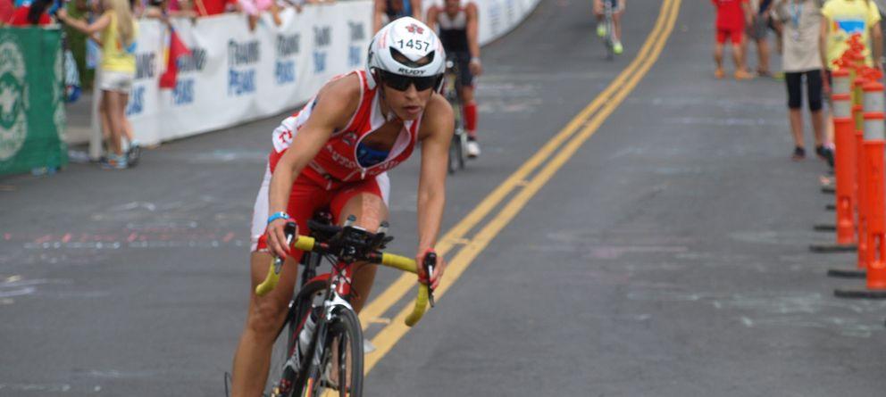 Foto: La triatleta española, Ruth Varona.