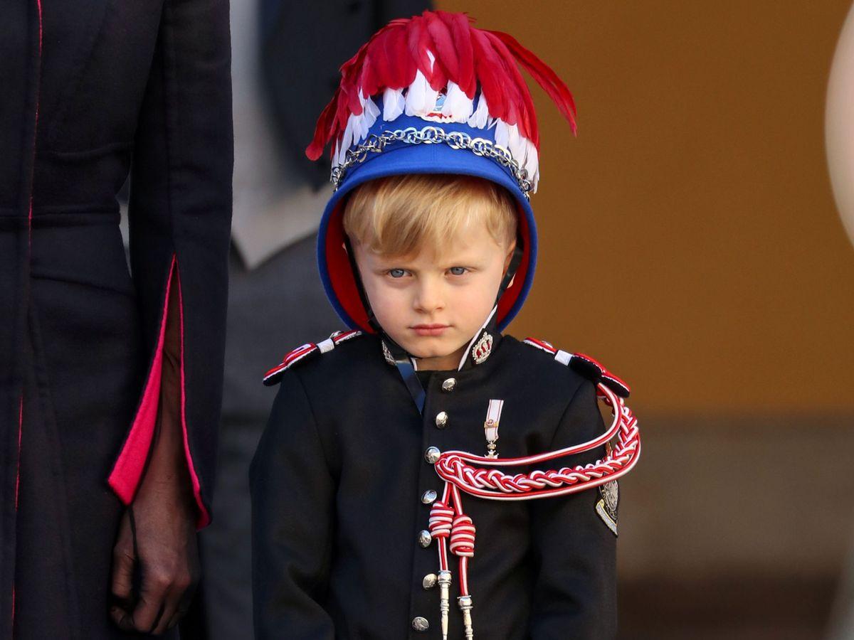 Foto: Jacques de Mónaco, en el Día Nacional. (Reuters)
