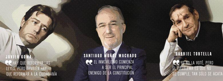 Foto: 'La Constitución es un fósil: se reforma o muere'