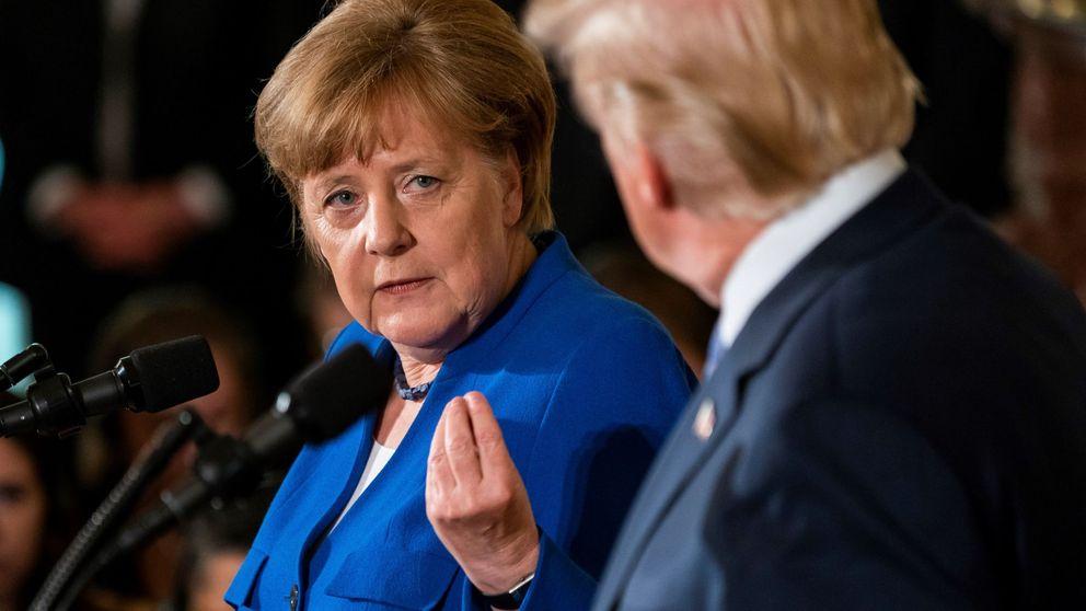 Merkel no se fía de Trump: la canciller pide a la UE no contar con que EEUU le proteja
