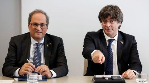 Puigdemont y Torra buscan convertir el fin del contagio en rampa para romper
