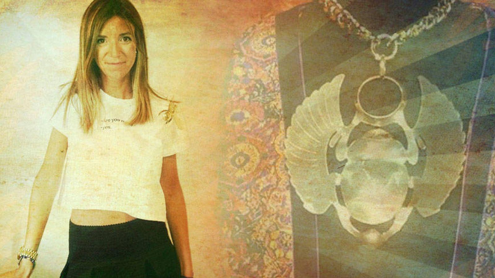 Foto: Carmen Ruiz en un fotomontaje realizado por Vanitatis