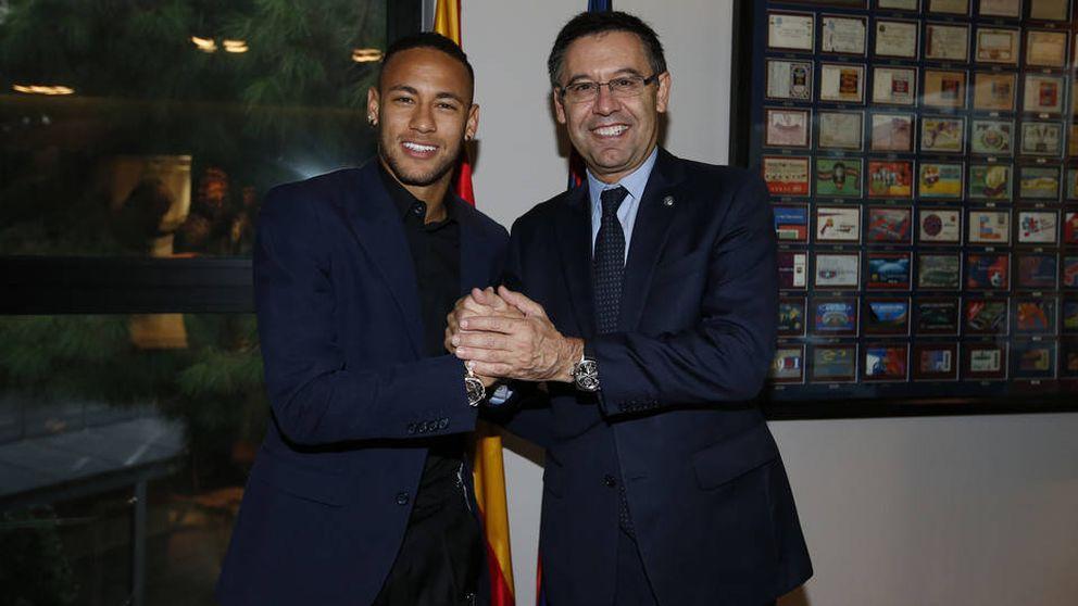Neymar renueva un contrato que le vincula al Barça hasta 2021