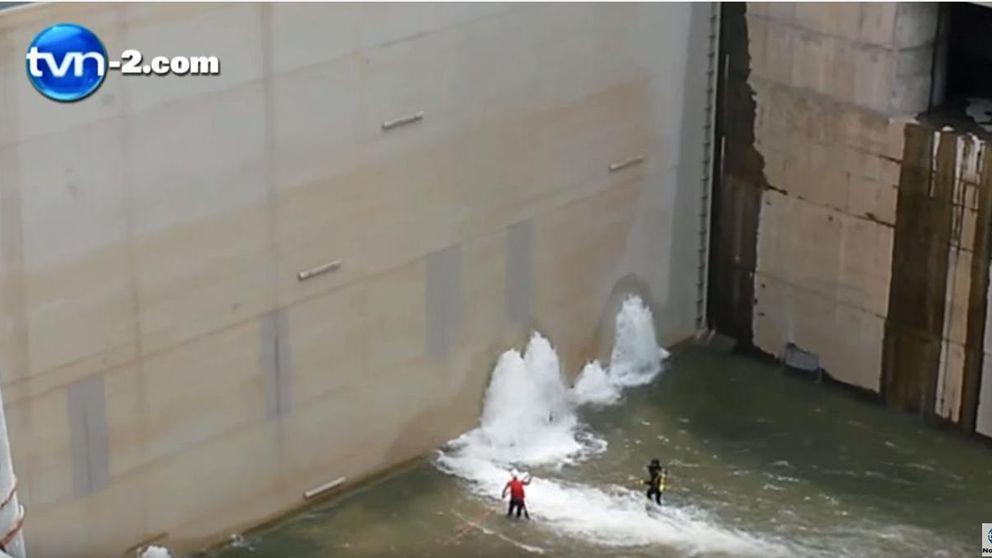 Sacyr reconoce enormes goteras en la construcción del Canal de Panamá