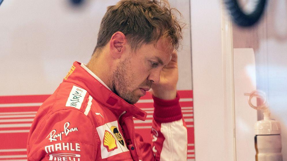 Foto: Vettel ha acabado exhausto la temporada. (EFE)