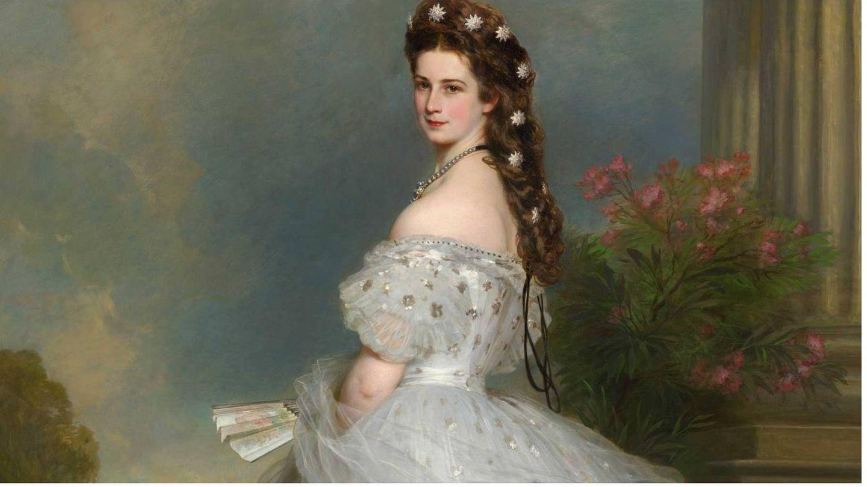 Retrato al óleo de Sissi en 1864 de Franz Xaver Winterhalter. (Sisi Museum-Hofburg Wien)