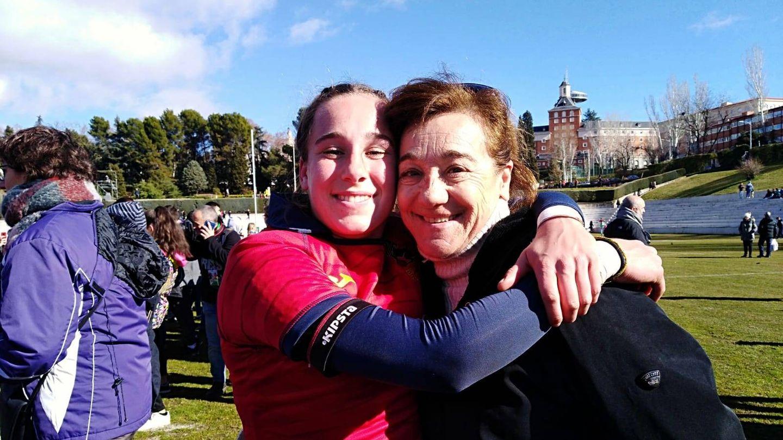 Álbum: Blanca Fernández y su amor por el rugby