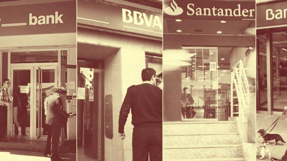 Foto: Oficinas de bancos españoles. (EC)