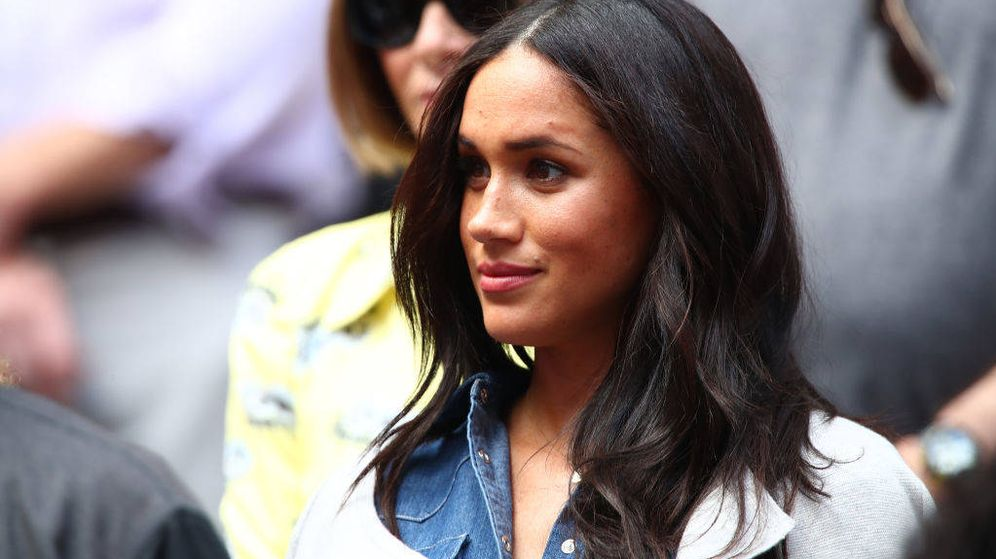 Foto: Meghan Markle, en el US Open de tenis 2019. (Getty)