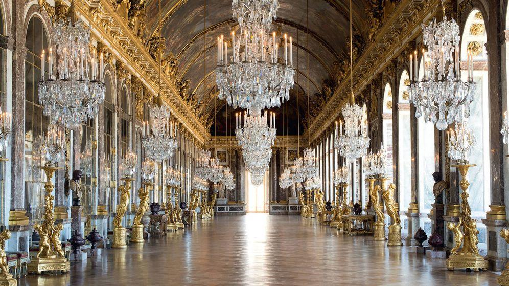 Foto: 'Grande Galerie' (de los espejos), 1684. Palacio de Versalles.