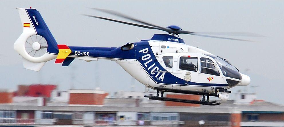 Interior pone equipos Full HD  en los helicópteros de la Policía para vigilar la frontera