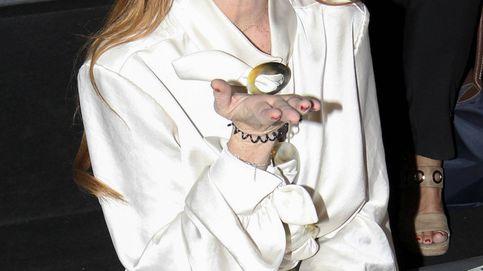Y Lindsay Lohan resucitó en la MBFWM, la fiesta de la moda española