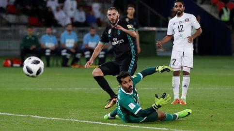 Karim Benzema: ni una mala palabra, ni un buen remate