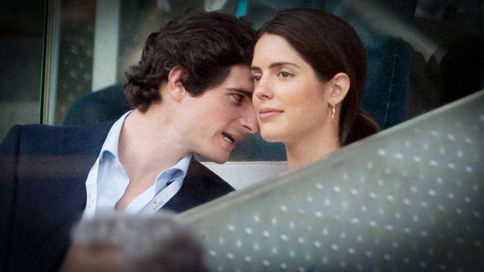 Foto: Sofía Palazuelo y el duque de Huéscar. (Cordon Press)