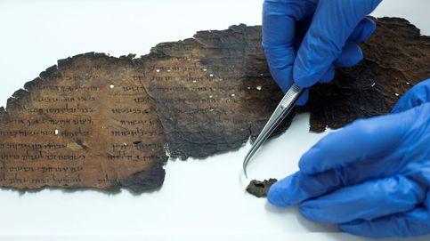 Descubren textos ocultos en los Rollos del Mar Muerto que se creían en blanco