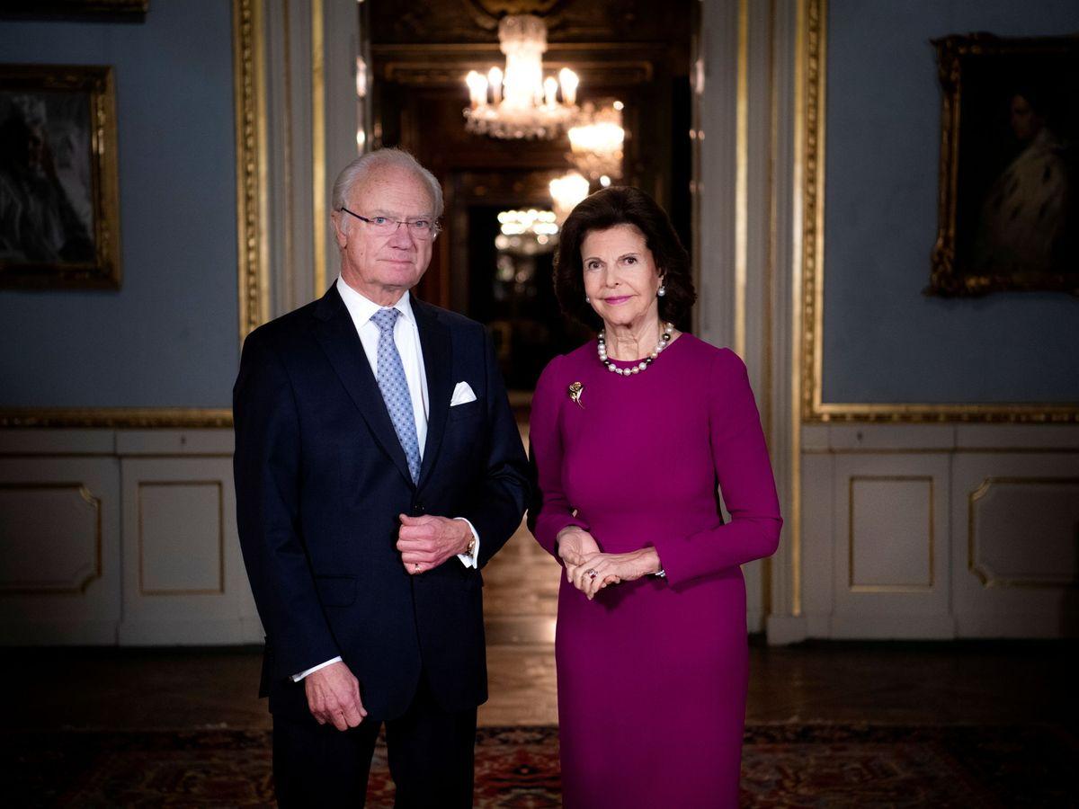 Foto: Los reyes de Suecia. (Reuters)
