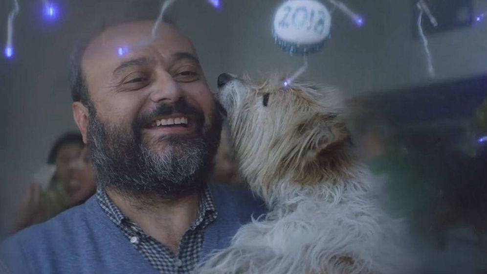 Foto: Max, el perro del anuncio de la Lotería de Navidad