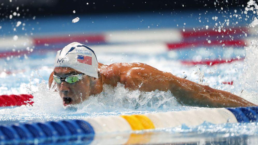 Foto: Phelps ha ganado 22 medallas olímpicas (Erich Schlegel/USA TODAY Sports)