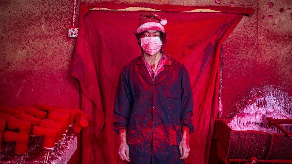 El pueblo donde se fabrican los adornos de Navidad está en China