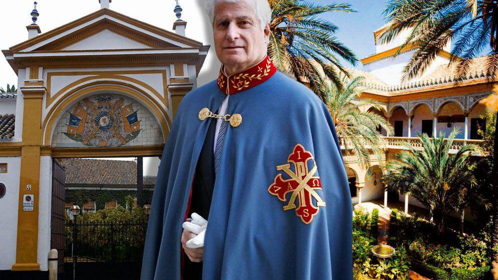 Foto: El duque de Alba en un fotomontaje realizado en Vanitatis
