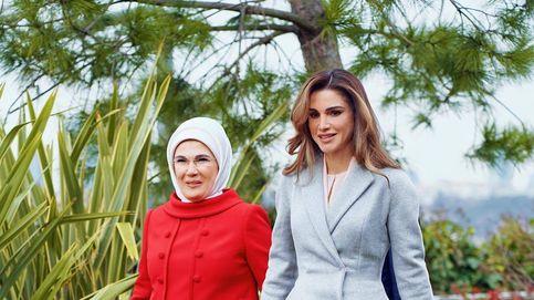 Rania, deslumbrante en solo 48 horas con las primeras damas de Turquía y Túnez