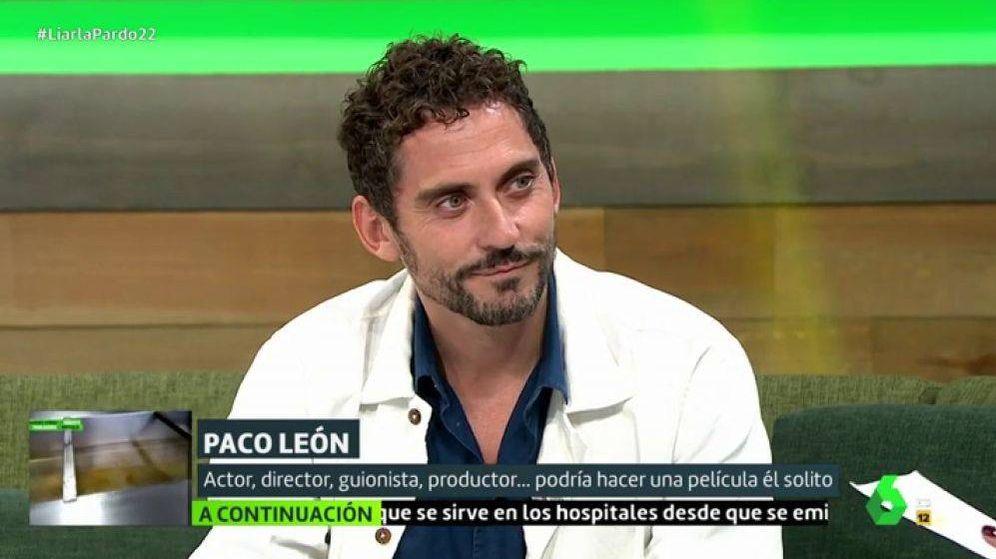 Foto: El actor Paco León, en el programa 'Liarla pardo'. (Atresmedia)