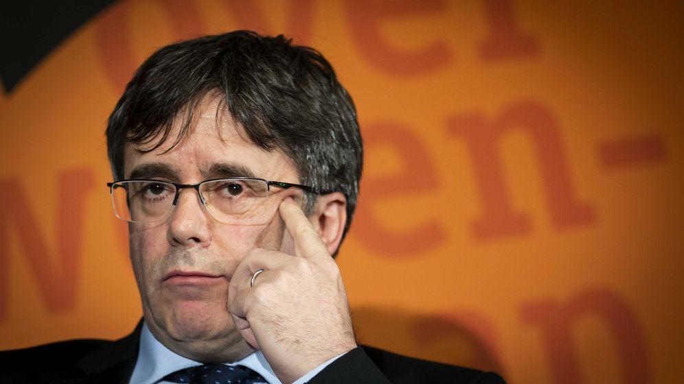 Foto: El expresidente de la Generalitat de Cataluña Carles Puigdemon. (EFE)