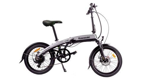 Kawasaki Folding 20: plegar una bici nunca fue tan fácil