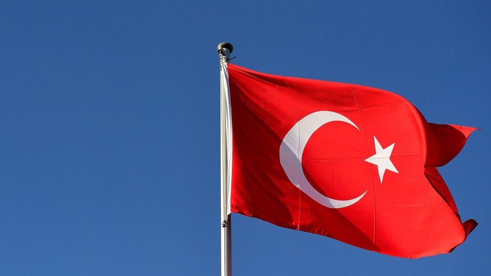 Foto: Bandera de Turquía. (EFE)