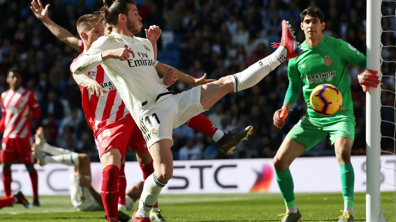 Gareth Bale contra el Girona. (Efe)