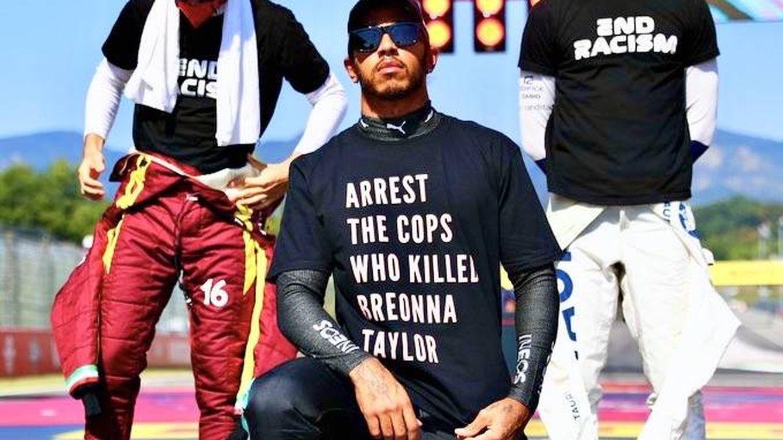 Lewis Hamilton tensa la cuerda: ¿Ha ido demasiado lejos con su última camiseta?