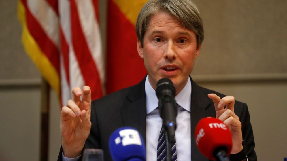 Foto: El subsecretario de Estado adjunto de EEUU para la política de informacion y comunicaciones cibernéticas e internacionales, Robert Strayer. (EFE)