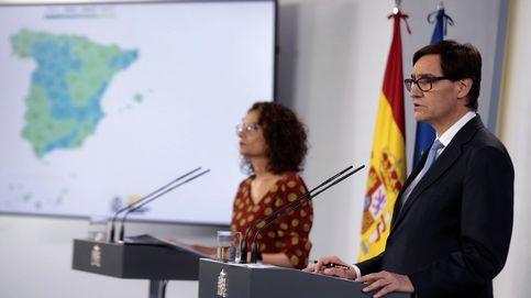 Última hora del coronavirus, en directo | Rueda de prensa de los ministros Salvador Illa y María Jesús Montero