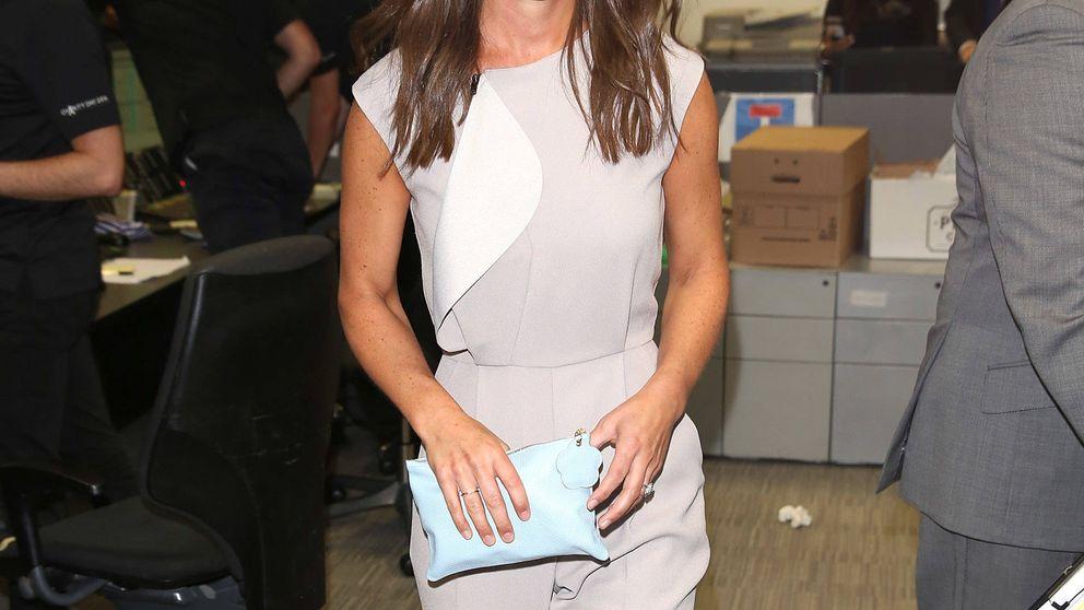Pippa Middleton de fiesta privada, mientras presume barriga de embarazo
